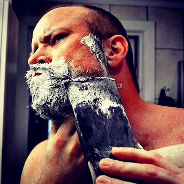 Фото как там бреют после мытья машины